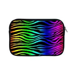 Rainbow Zebra Apple Ipad Mini Zippered Sleeve
