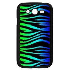 Rainbow Zebra Samsung Galaxy Grand Duos I9082 Case (black)