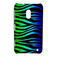 Rainbow Zebra Nokia Lumia 620 Hardshell Case