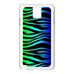 Rainbow Zebra Samsung Galaxy Note 3 N9005 Case (White)