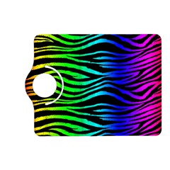 Rainbow Zebra Kindle Fire Hd (2013) Flip 360 Case