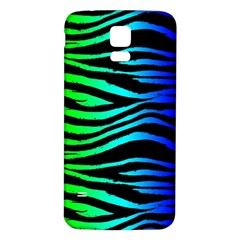 Rainbow Zebra Samsung Galaxy S5 Back Case (white)