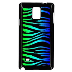 Rainbow Zebra Samsung Galaxy Note 4 Case (black)