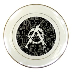Anarchy Porcelain Display Plate