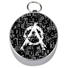 Anarchy Silver Compass