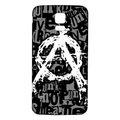 Anarchy Samsung Galaxy S5 Back Case (White)