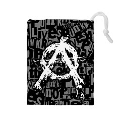 Anarchy Drawstring Pouch (Large)