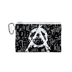Anarchy Canvas Cosmetic Bag (Small)