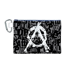 Anarchy Canvas Cosmetic Bag (Medium)