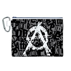 Anarchy Canvas Cosmetic Bag (Large)