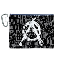 Anarchy Canvas Cosmetic Bag (XL)
