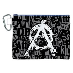 Anarchy Canvas Cosmetic Bag (XXL)
