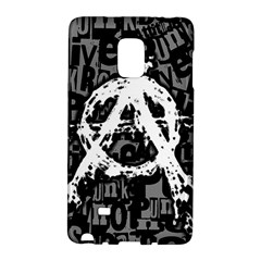 Anarchy Samsung Galaxy Note Edge Hardshell Case