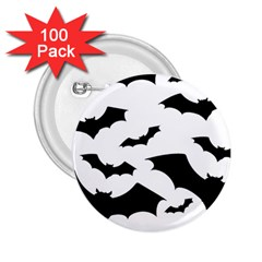 Deathrock Bats 2 25  Button (100 Pack)