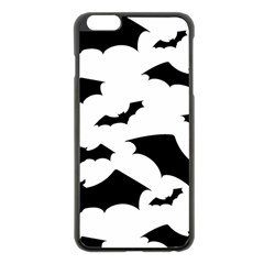 Deathrock Bats Apple Iphone 6 Plus Black Enamel Case