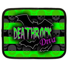 Deathrock Diva Netbook Sleeve (large)