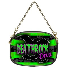 Deathrock Diva Chain Purse (two Sided)