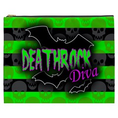 Deathrock Diva Cosmetic Bag (xxxl)