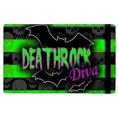 Deathrock Diva Apple Ipad 3/4 Flip Case