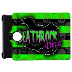 Deathrock Diva Kindle Fire Hd Flip 360 Case