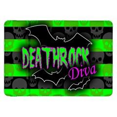 Deathrock Diva Samsung Galaxy Tab 8 9  P7300 Flip Case