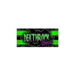 Deathrock Diva Satin Scarf (Oblong)