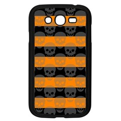 Deathrock Stripes Samsung Galaxy Grand Duos I9082 Case (black)