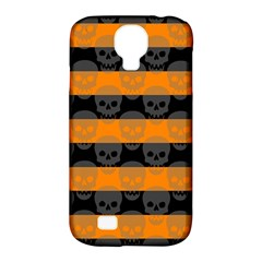 Deathrock Stripes Samsung Galaxy S4 Classic Hardshell Case (pc+silicone)