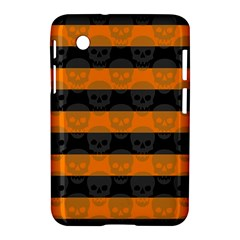 Deathrock Stripes Samsung Galaxy Tab 2 (7 ) P3100 Hardshell Case