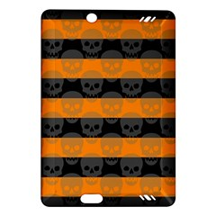 Deathrock Stripes Kindle Fire HD (2013) Hardshell Case
