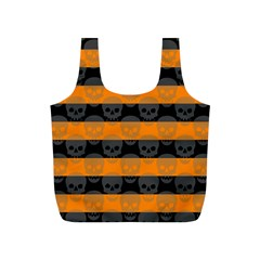 Deathrock Stripes Reusable Bag (s)