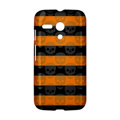 Deathrock Stripes Motorola Moto G Hardshell Case
