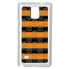 Deathrock Stripes Samsung Galaxy Note 4 Case (White)