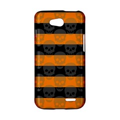 Deathrock Stripes LG L90 D410 Hardshell Case