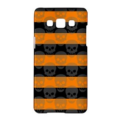 Deathrock Stripes Samsung Galaxy A5 Hardshell Case
