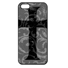 Goth Brocade Cross Apple Iphone 5 Seamless Case (black)