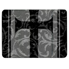 Goth Brocade Cross Samsung Galaxy Tab 7  P1000 Flip Case