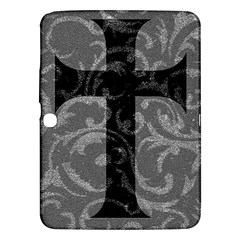 Goth Brocade Cross Samsung Galaxy Tab 3 (10 1 ) P5200 Hardshell Case