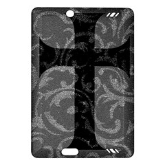 Goth Brocade Cross Kindle Fire Hd (2013) Hardshell Case