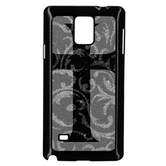Goth Brocade Cross Samsung Galaxy Note 4 Case (Black)