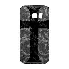 Goth Brocade Cross Samsung Galaxy S6 Edge Hardshell Case