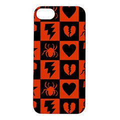 Goth Punk Checkers Apple Iphone 5s Hardshell Case