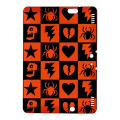 Goth Punk Checkers Kindle Fire Hdx 8 9  Hardshell Case