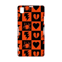 Goth Punk Checkers Sony Xperia Z1 L39H Hardshell Case