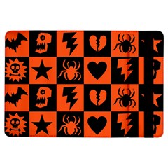 Goth Punk Checkers Apple iPad Air Flip Case