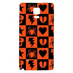 Goth Punk Checkers Samsung Note 4 Hardshell Back Case