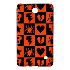 Goth Punk Checkers Samsung Galaxy Tab 4 (8 ) Hardshell Case