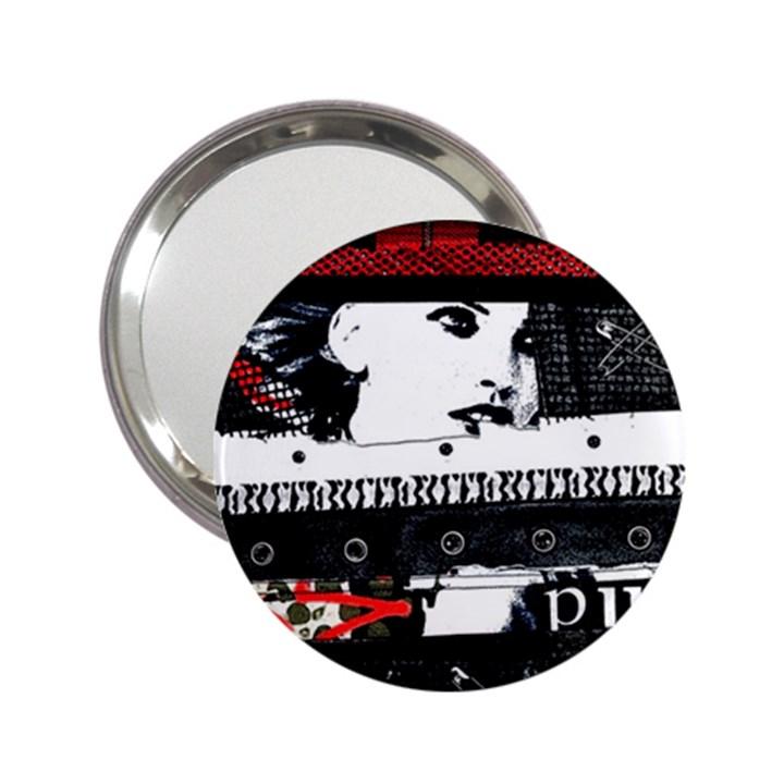 Punk Chick Handbag Mirror (2.25 )