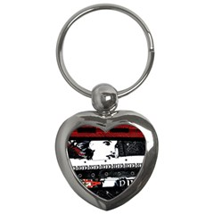 Punk Chick Key Chain (heart)