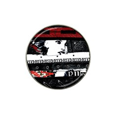 Punk Chick Golf Ball Marker (for Hat Clip)